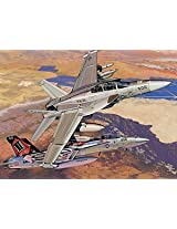 "1/144 Ea-18g ""Growler"" Vx-31 ""Dust Devils"" + F/A-18e Super Hornet Vfa-14 ""Tophatters"" (Twin Pack)"