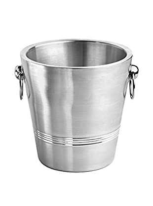 Kraftware Stainless Steel Double Wall Brushed 3-Qt. Champagne Bucket