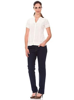 Cortefiel Slim Fit Jeans (Blau)