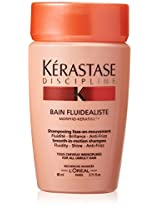 Kerastase Discipline Bain Fluidealiste Smooth-in-Motion Shampoo for Unisex, 2.71 Ounce