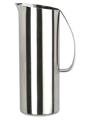 Supreminox Jarra oval inox 18/10 con reten interior de acero satinado