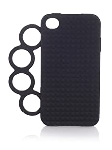 Rebecca Minkoff Women's Knuckles iPhone 4 Case (Black)