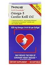 Twinlabs Cardio Krill Oil, 60 Softgels