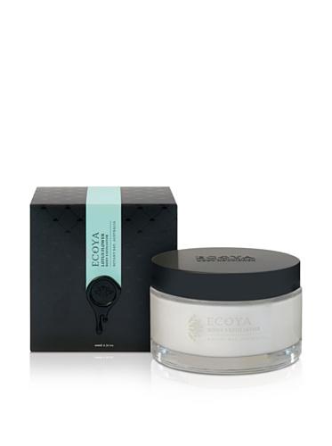 Ecoya Body Exfoliator in Lotus Flower Fragrance, 6.7oz / 200ml