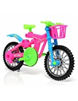 Large Simulation Kids Model Plastic Colorful Bike Bicycle Assembly DIY Creative Toys Repair Tools