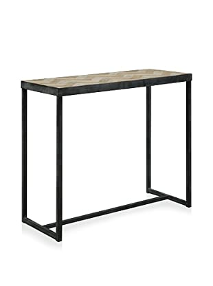 Shine by S.H.O. Trina Console Table (Old Elm/Antique Grey)