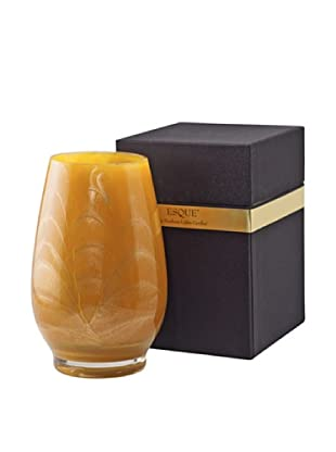 Northern Lights Candles Esque Candle & Floral Vase, Caramel