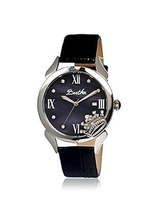 Bertha Women's BR2406 Queen Black Leather Watch