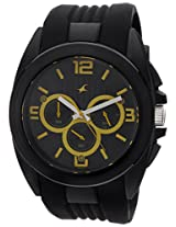 Fastrack Chronograph Black Dial Men's Watch - 38001PP02