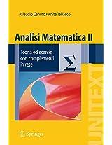 Analisi Matematica II: Teoria Ed Esercizi Con Complementi in Rete (Unitext / La Matematica Per Il 3+2)