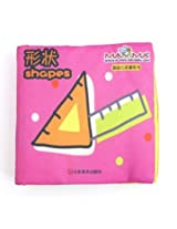 Baby Kid Child Intelligence Development Learn Cognize Cloth Book Educational Toy (Shapes)