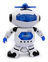 Taaza Garam Naughty Dancing Robot With Space Suit Gift for kids
