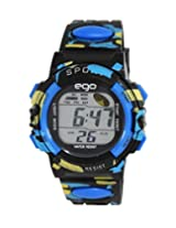 Ego by Maxima Digital Black Dial Men's Watch - E-37182PPDN