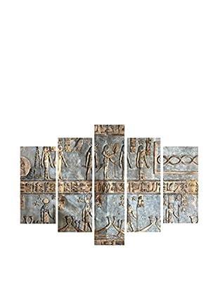 Dekorjinal Set, 5-teilig dekoratives Bild (grau)