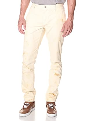 Earnest Sewn Men's Tapered Chino (Khaki Ruse)