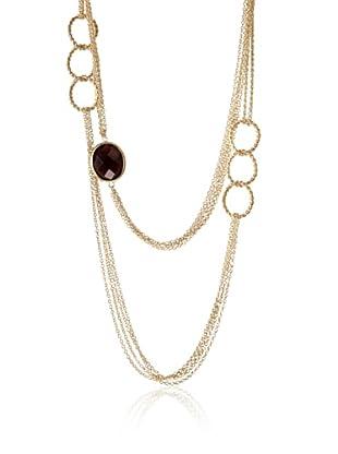 Rivka Friedman Tourmaline Crystal Multi-Chain Necklace