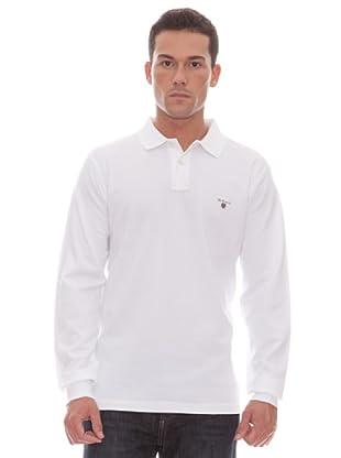 Gant Polo Liso (blanco)