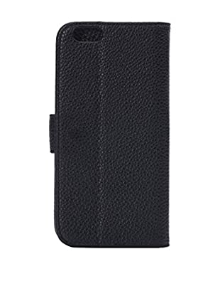 Unotec Funda Flip Horizontal Negra iPhone 6 Plus