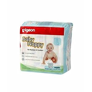 Pigeon Diaper MINI L - 12 pcs pack