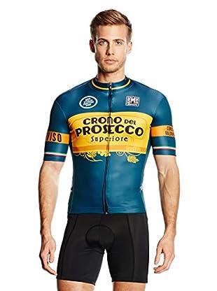 Santini Maillot Ciclismo Team 14A Tappa