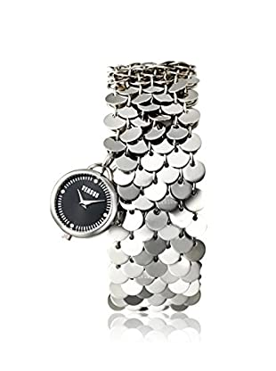 Versus by Versace Women's SGD020012 Lights Silver/Black Stainless Steel Watch