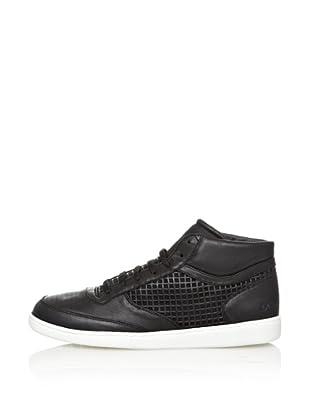 Dolce & Gabbana Zapatillas Piel Rejilla (Negro)