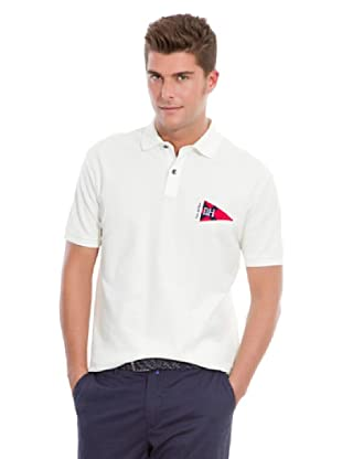 Pedro del Hierro Polo Big Logo Marinero (Crudo)