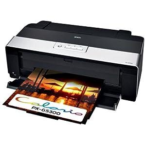 EPSON Colorio インクジェットプリンター PX-G5300 A3ノビ対応 8色高光沢顔料インク