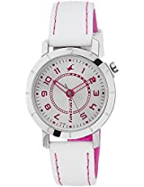 Fastrack Analog Silver Dial Women's Watch - 6112SL01