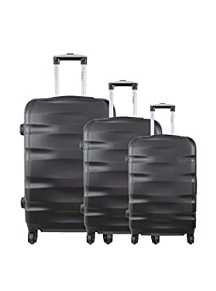 zifel Set de 3 trolleys rígidos 1616