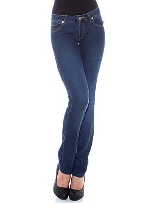 7 Seven LA Pantalón Madonna (Azul Medio)