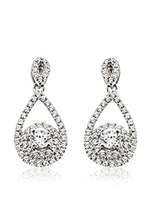 Orphelia Jewelry Ohrringe  weiß