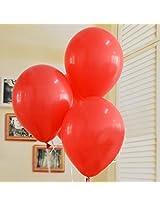 GrandShop 50254 Balloons Dual Color Black & Pink (Pack of 50)