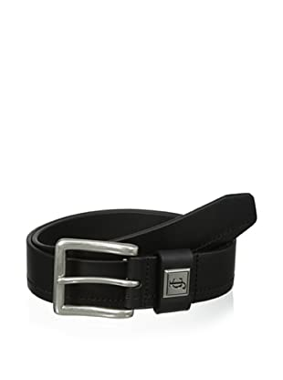J.Campbell Los Angeles Men's Single Stitched Belt (Black)