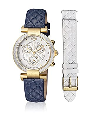 Gevril Uhr mit schweizer Quarzuhrwerk Woman Berletta Chrono 37 mm