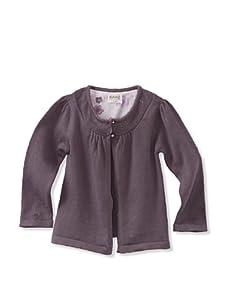 KANZ Baby 2-Button Cardigan (Smokey Purple)