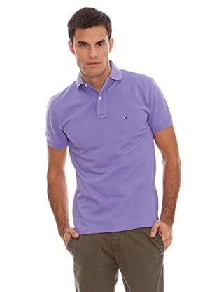 Tommy Hilfiger Polo New Tommy Knit (Morado)