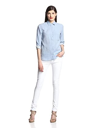Surface to Air Women's Zulu Shirt (Light Blue)