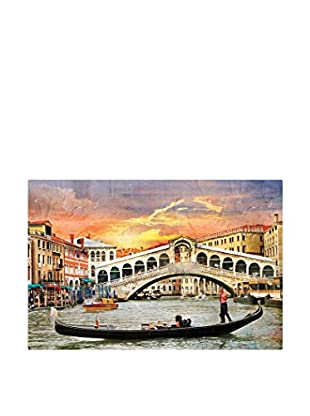 Best seller living Leinwandbild Riolta Bridge And Venice