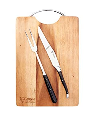 Laguiole en Aubrac Cutting Board & Carving Set