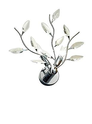 Leucos Wandleuchte Astree P2 metallic/kristall