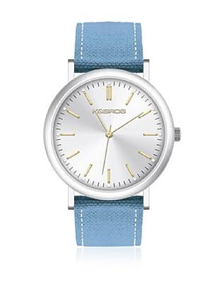 K&BROS Reloj 9490 (Celeste)