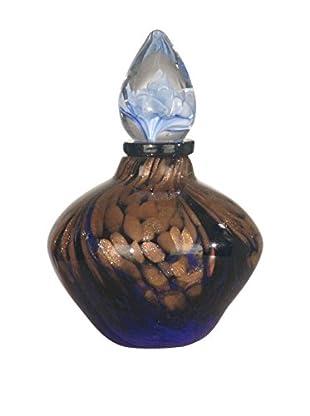 Dale Tiffany Cambridge Perfume Bottle, Purple/Gold