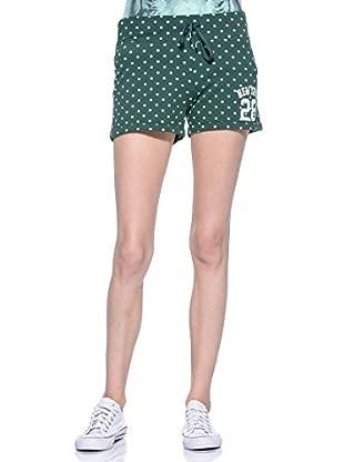 Converse Shorts Aut Lady Pois (Verde / Menta)