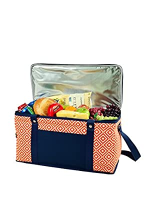 Picnic at Ascot Diamond Collection Collapsible Trunk Cooler, Orange
