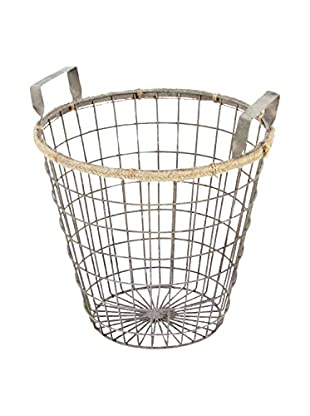 Skalny Wire Storage Basket, Silver