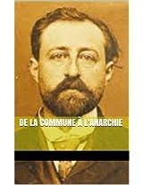De la commune à l'anarchie (French Edition)