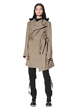 Ann Demeulemeester Women's Trench Coat (Rope)