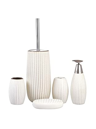 Welcome Home Set Accessori Bagno Crema
