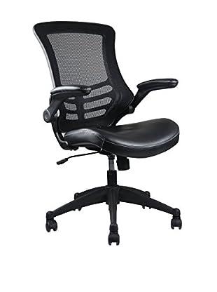 Techni Mobili Mesh Task Chair, Black